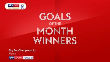 EFL Goal of the Month winners - March