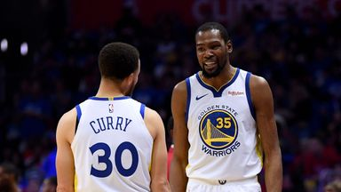 Curry hails 'amazing' Durant