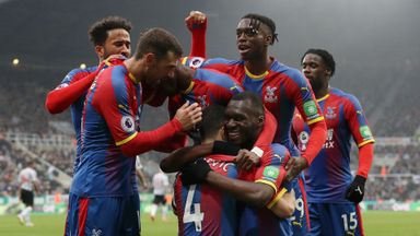 Newcastle 0-1 Crystal Palace