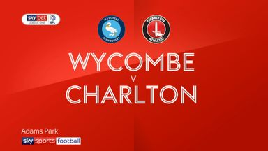 Wycombe 0-1 Charlton