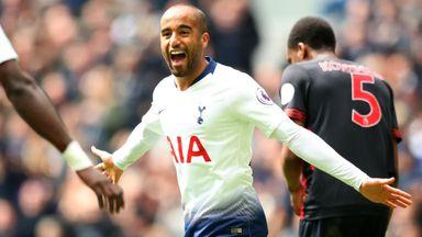 Tottenham 4-0 Huddersfield