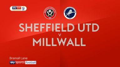 Sheffield United 1-1 Millwall