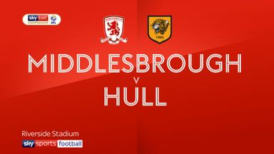 Middlesbrough 1-0 Hull