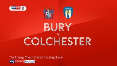 Bury 2-0 Colchester