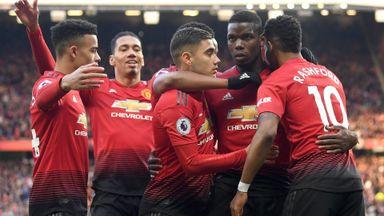 Manchester Utd 2-1 West Ham