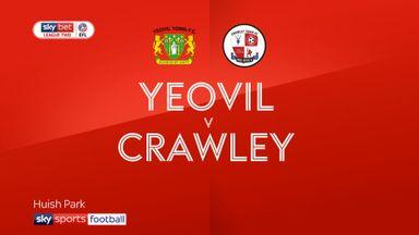 Yeovil 0-1 Crawley
