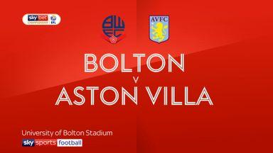 Bolton 0-2 Aston Villa
