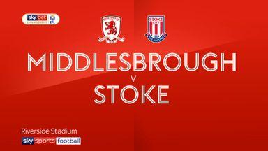 Middlesbrough 1-0 Stoke