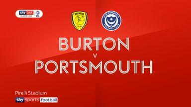 Burton 1-2 Portsmouth