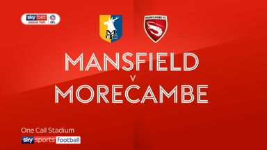 Mansfield 4-0 Morecambe