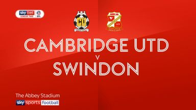 Cambridge United 0-0 Swindon