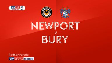 Newport County 3-1 Bury