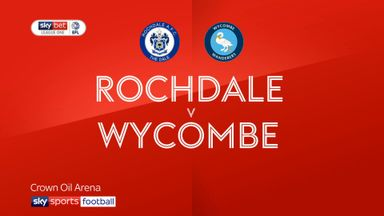 Rochdale 1-0 Wycombe