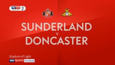 Sunderland 2-0 Doncaster