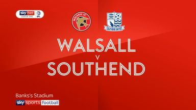 Walsall 1-1 Southend