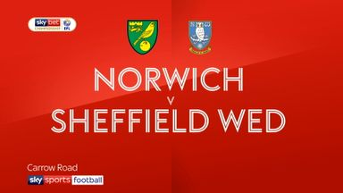 Norwich 2-2 Sheffield Wednesday