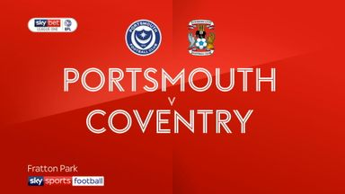 Portsmouth 2-1 Coventry