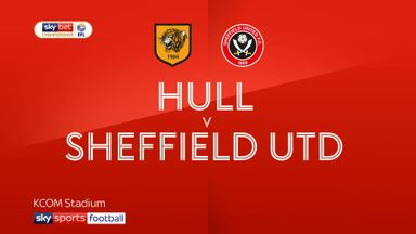 Hull 0-3 Sheffield Utd