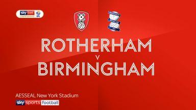 Rotherham 1-3 Birmingham