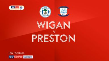 Wigan 2-0 Preston