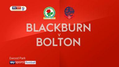 Blackburn 2-0 Bolton