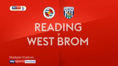 Reading 0-0 West Brom