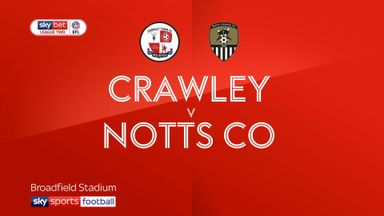 Crawley 1-1 Notts County