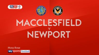 Macclesfield 0-0 Newport