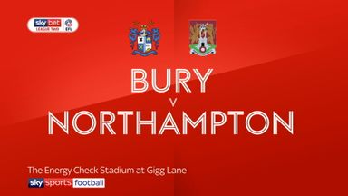 Bury 3-1 Northampton