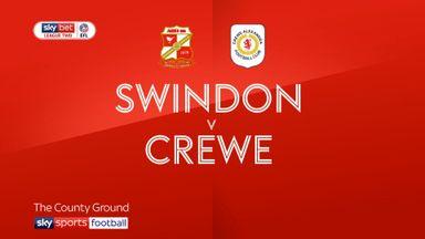 Swindon 1-2 Crewe