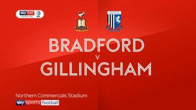 Bradford 1-1 Gillingham