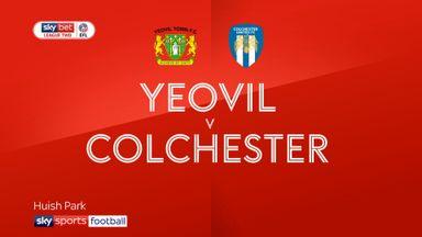 Yeovil 1-1 Colchester