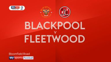 Blackpool 2-1 Fleetwood
