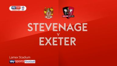 Stevenage 1-1 Exeter