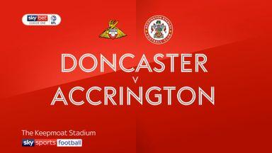 Doncaster 1-2 Accrington Stanley