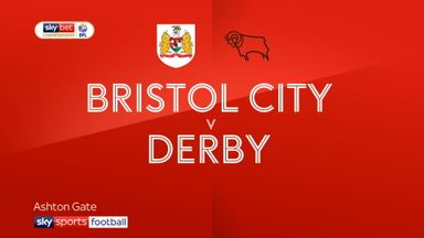 Bristol City 0-2 Derby