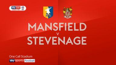Mansfield 1-2 Stevenage