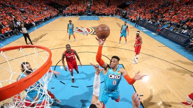 Westbrook stars in Thunder Game 3 win