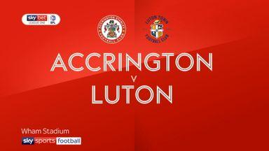 Accrington 0-3 Luton