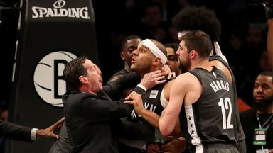 Butler, Dudley ejected after fracas