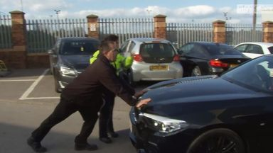 Barton stopped by police at Oakwell