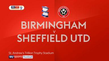 Birmingham 1-1 Sheffield Utd