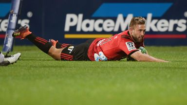 Crusaders' top tries vs Highlanders
