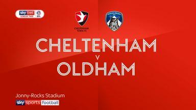 Cheltenham 0-0 Oldham