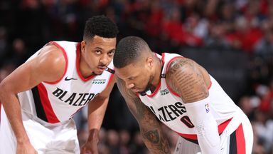 'OKC can't cope with Portland guards'