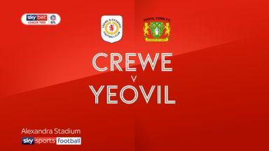 Crewe 2-0 Yeovil