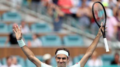 Federer wins Miami Open