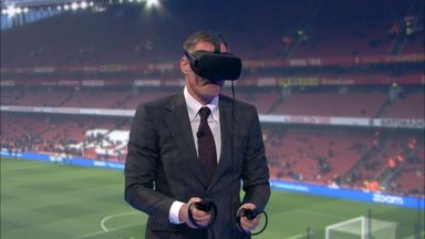 Carra uses VR to defend officials