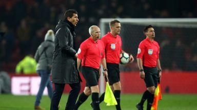 Gracia: It wasn't a red card