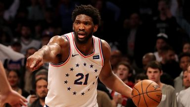 Embiid stars as 76ers take control